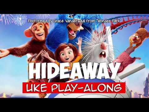 Hideaway ukulele play-along Key C