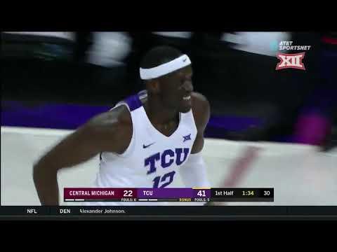 TCU vs. Central Michigan Men's Basketball Highlights