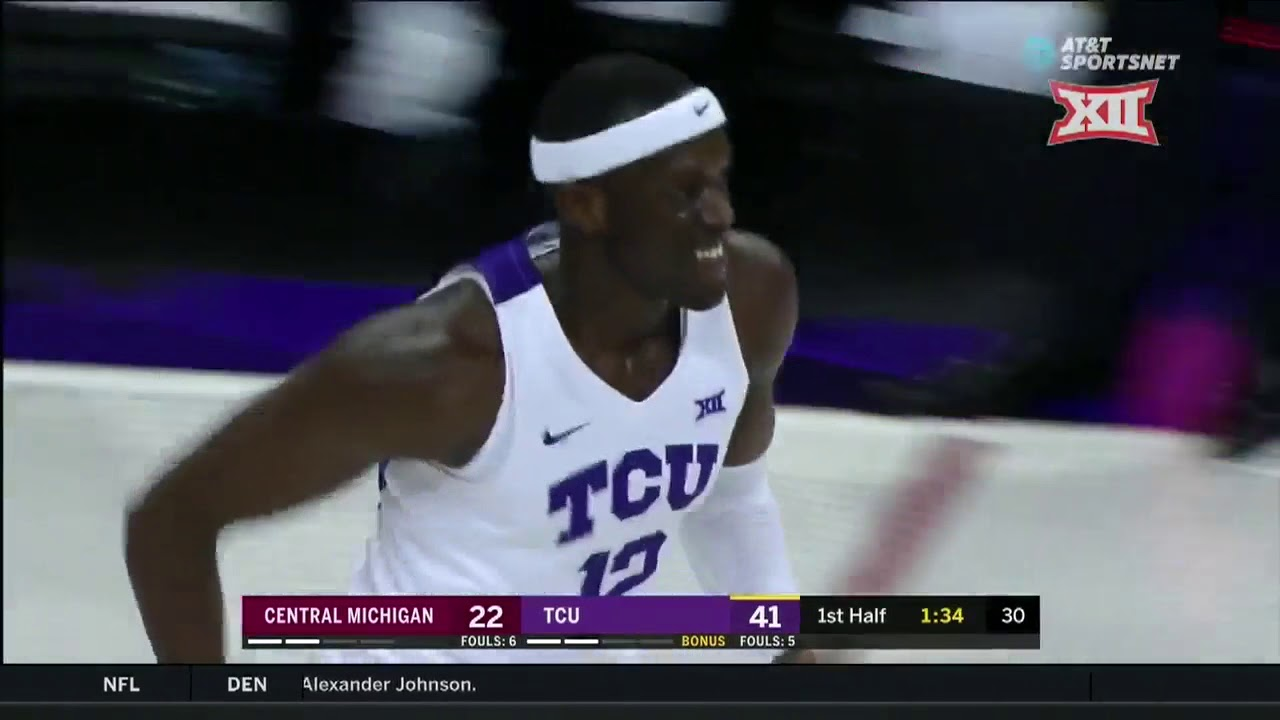 tcu-vs-central-michigan-men-s-basketball-highlights