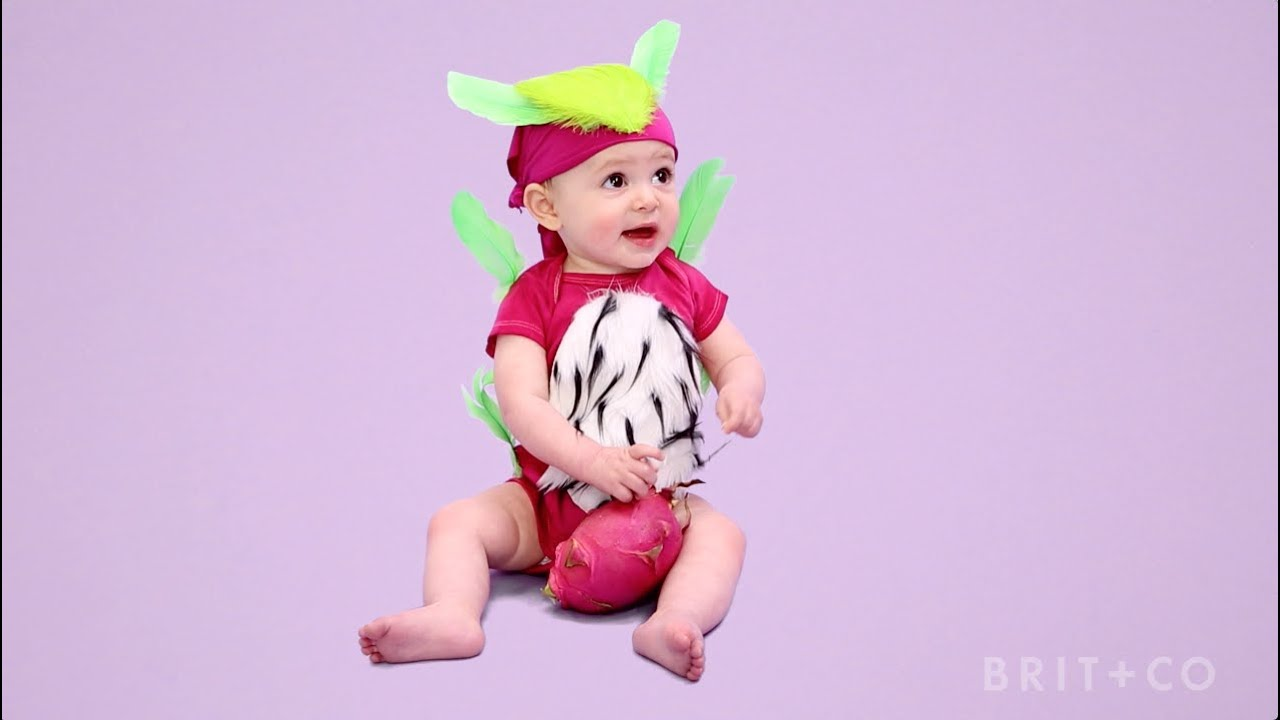 How To Make A Baby Dragonfruit Costume