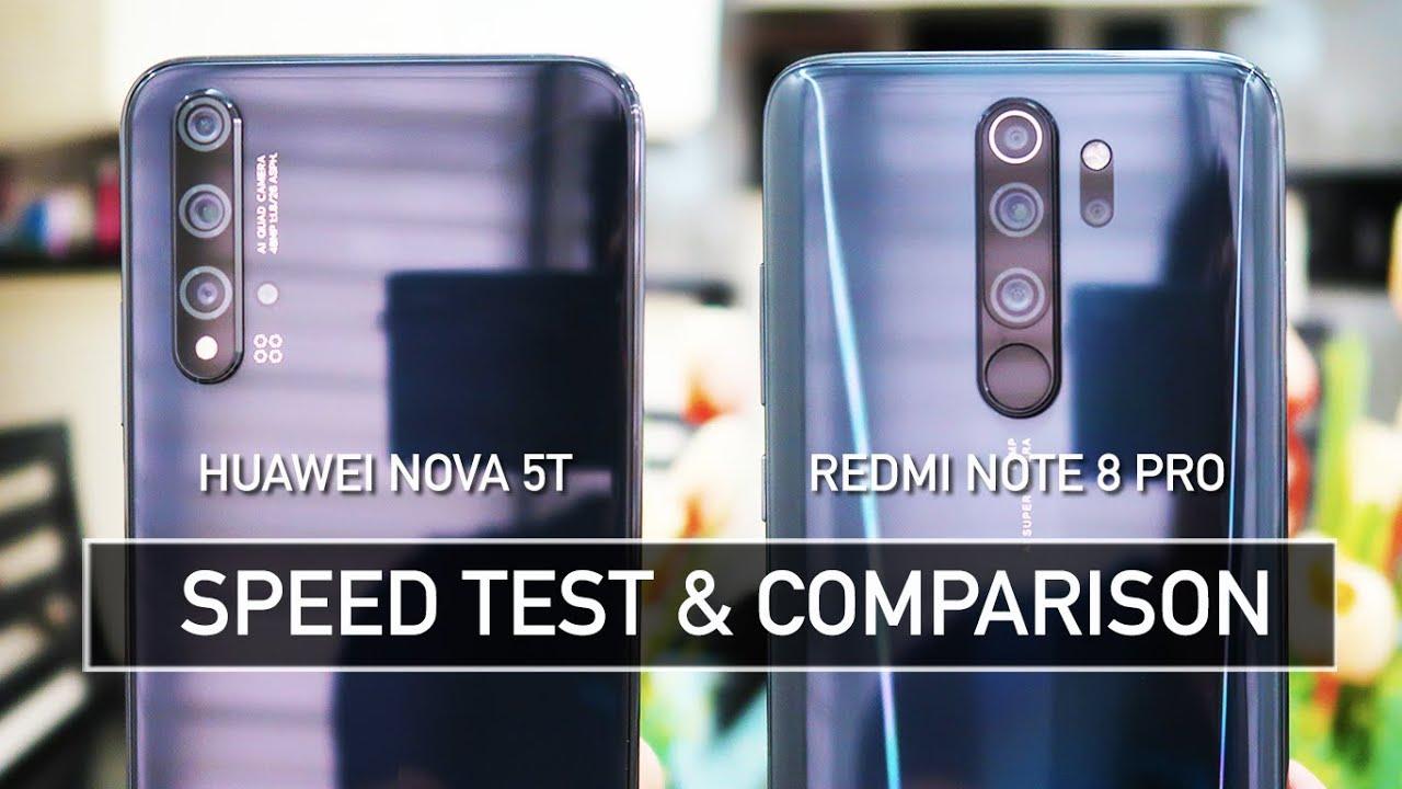Photo of Huawei Nova 5T vs Redmi Note 8 Pro SPEED TEST – هواوي
