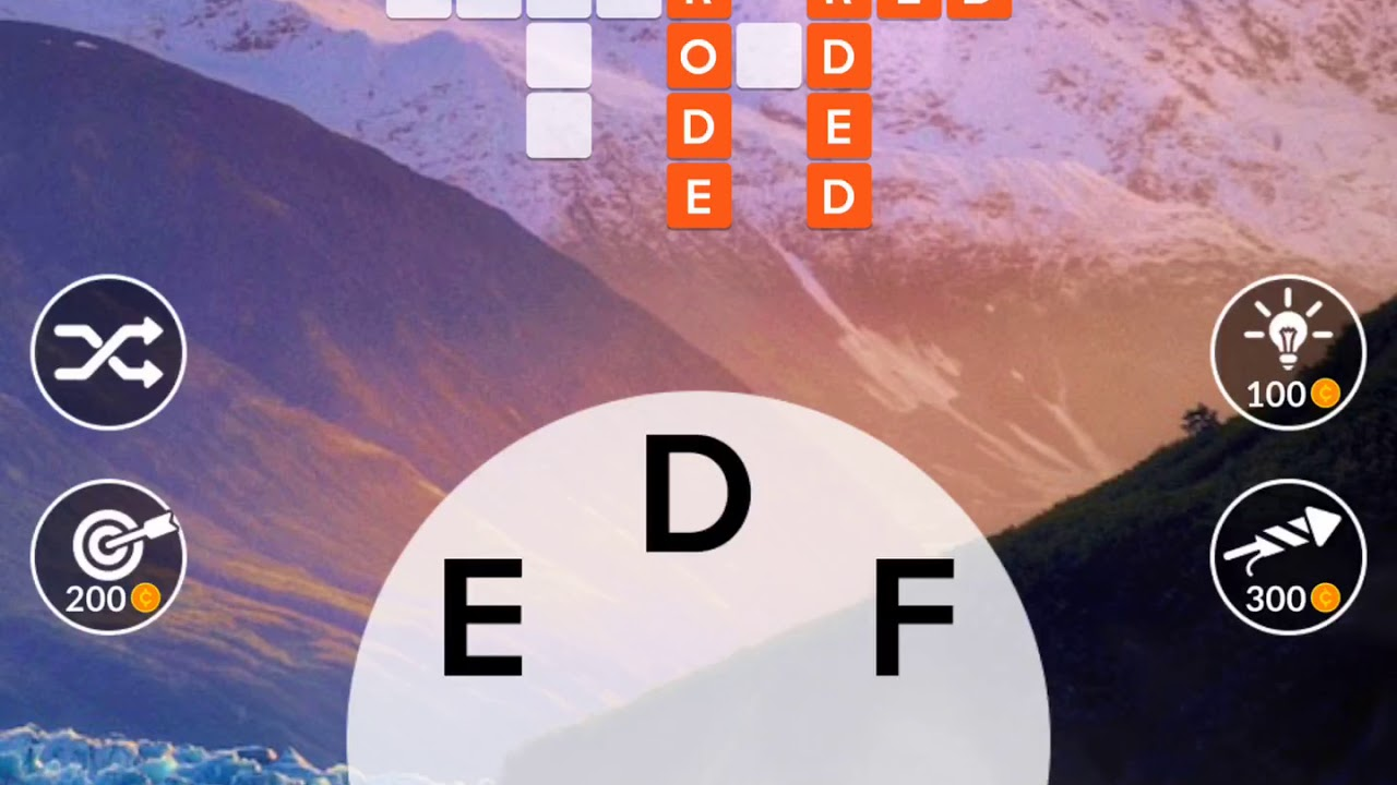 Wordscapes Level 180 Answers By Scary Talking Head