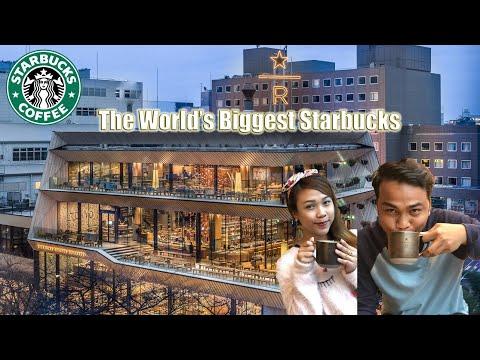 Biggest Starbucks in the World   Tokyo Reserve Roastery
