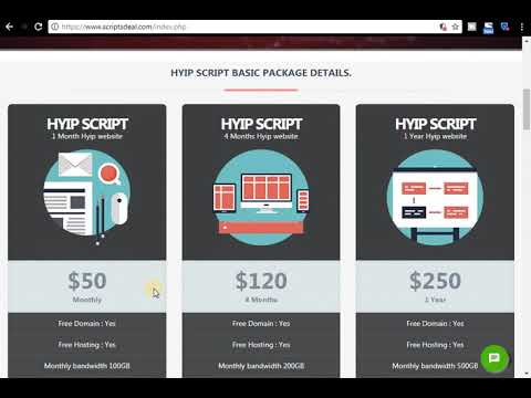 Hyip and other all website for sale – free domain and host
