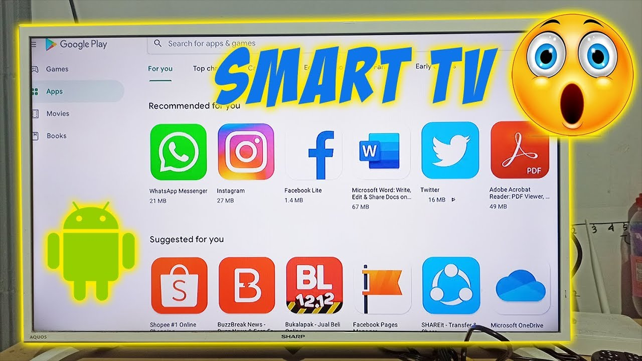 Cara Merubah Tv Led Biasa Menjadi Smart Tv Dengan Mini Smart Tv Box Youtube