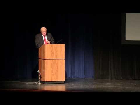 Coach Herman Boone speaks at Ferris State University