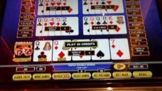 Hot Roll Video Poker. ACES!