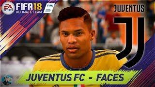 Fifa 18 juventus faces / caras