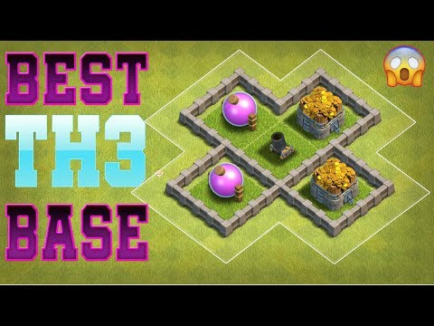 Clash Of Clans Best Town Hall 3 [TH3] Base Design -  #3