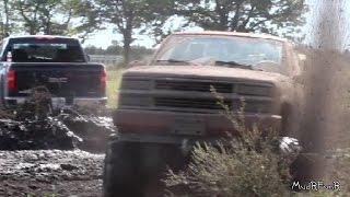 4x4 Mud Trucks - Gopher Dunes 2015 Fall Mudfest