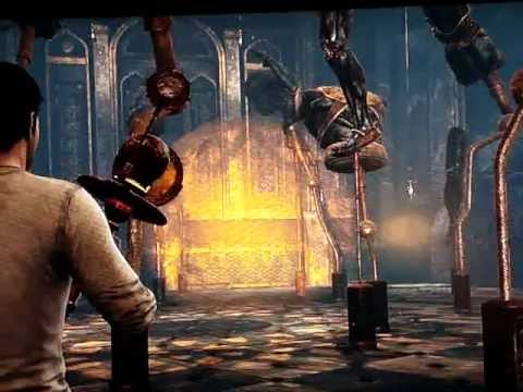 uncharted 3 mural puzzle align body parts chapter 11