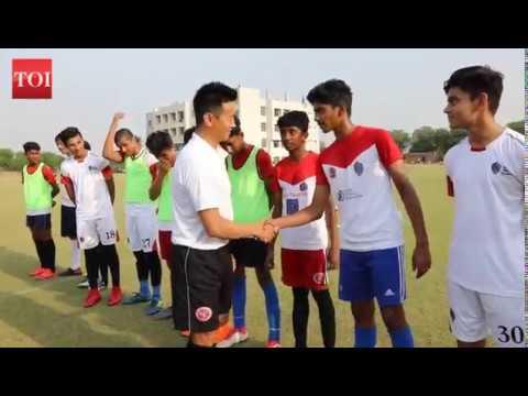Bhaichung Bhutia launches his first residential football academy