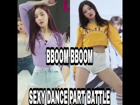 Nancy vs yeonwoo BBOOM BBOOM SEXY DANCE PART