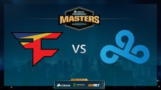 Cloud9 vs FaZe - Overpass - Group Stage - Dreamhack Marseille 2018