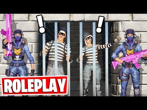 PRISON ESCAPE ROLEPLAY in Fortnite! (NEW Fortnite Creative Gamemode)
