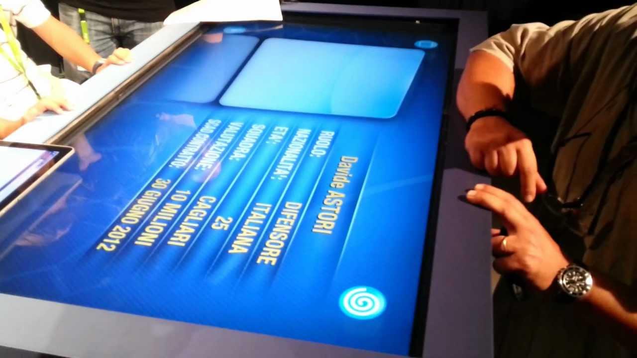 Tavolo touch screen sky 1 youtube - Tavolo touch screen ...
