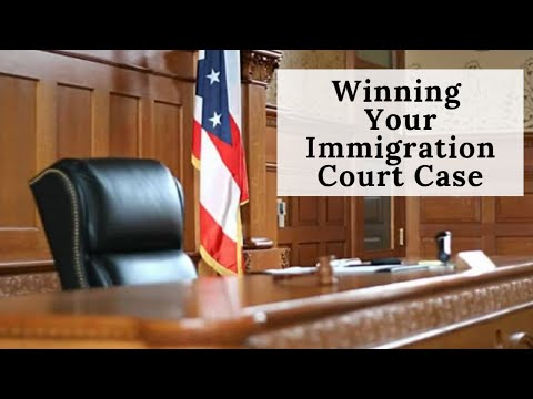 Winning Your Case In Immigration Court