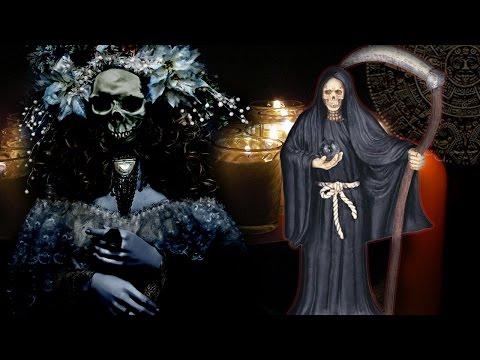 La santa Muerte, su origen prehispánico y quien es.