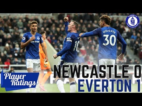 Newcastle United 0-1 Everton | EFC Player Ratings