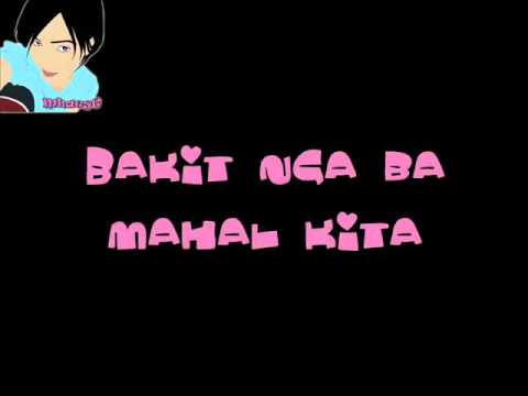 Bakit Nga Ba Mahal Kita by Roselle Nava lyrics   YouTube
