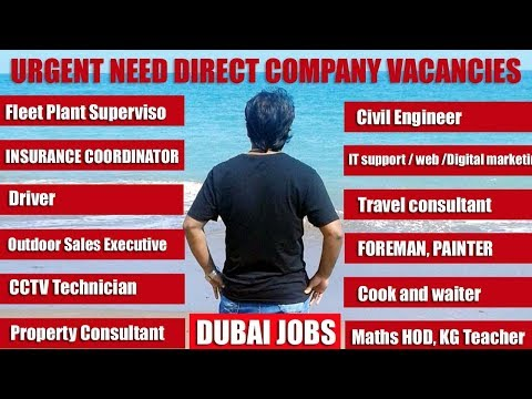 Dubai job vacancies | Free visa | Free accomodation| HINDI URDU | TECH GURU DUBAI JOBS