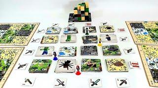 *NEW* 마인크래프트!! 빌더스 & 바이옴 보드게임! 2부?? 게임플레이! 의외로 꿀잼이네ㅋㅋ MINECRAFT!! BUILDERS & BIOMES Board game Play