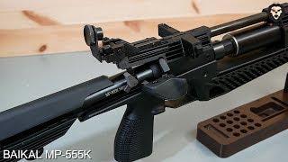 PCP винтовка Baikal MP 555K отстрел видео обзор