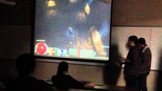 """UL Lafayette CMPS Game Lab team """"Over the Top"""" Final Preden"""