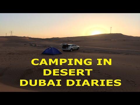 Camping in Desert ! Dune Bashing ! Dubai Diaries