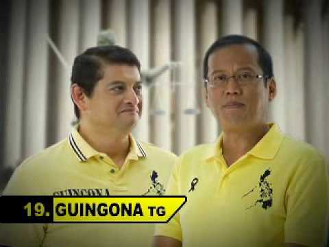 TG Guingona III TV Ad with Noynoy Aquino