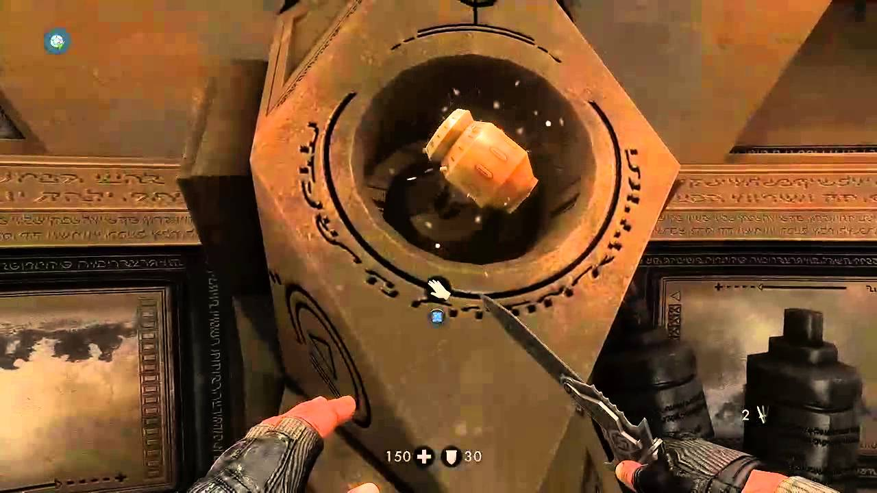 wolfenstein  the new order  how to solve da u0026 39 at yichud puzzle room