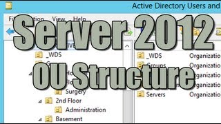 Server 2012 OU Structure Best Practice