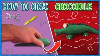 How to make a clay Crocodile