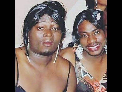 Download Odunlade Adekola, Muyiwa, Adebayo Salami dressed as females