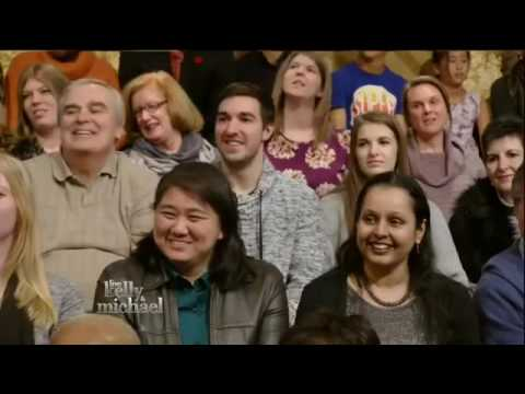 Live! With Kelly and Michael 1/18/2016 Patricia Arquette; Megan Boone