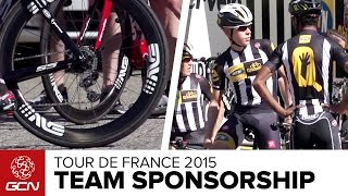 How Do Pro Cycling Teams Choose Equipment For Their Riders? | Tour De France 2015