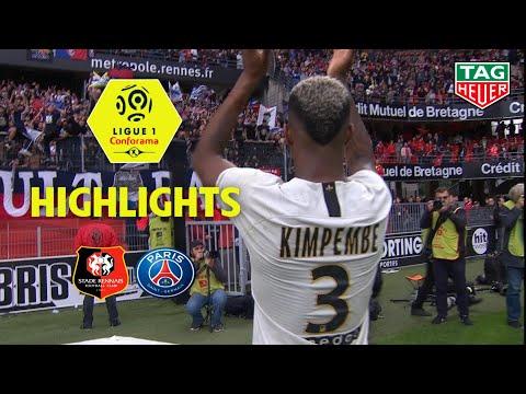Stade Rennais FC - Paris Saint-Germain ( 1-3 ) - Highlights - (SRFC - PARIS) / 2018-19