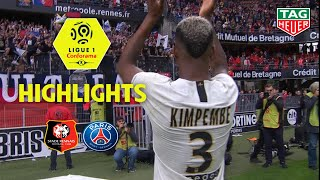 Stade Rennais FC - Paris Saint-Germain ( 1-3 ) - Highlights - (SRFC - PARIS) / 2018-19