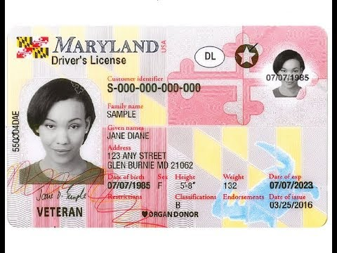 MARYLAND'S REAL ID ACT ABUSE, BARRIER TO EMPLOYMENT (MVA)