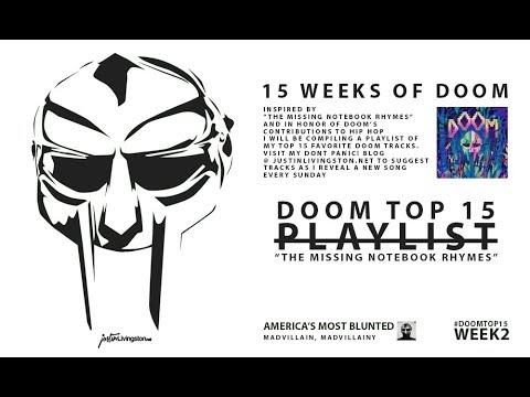 """Week 2 of the """"The Missing Notebook Rhymes"""" inspired playlist 15 Weeks of Doom!"""