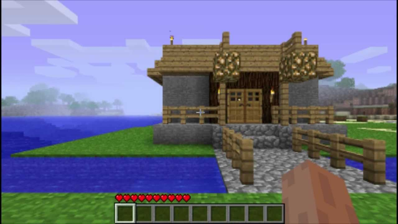 Minecraft My Awesome Trap House GameplayCommentary  YouTube