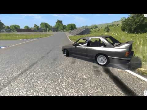 The Stig Drives The BMW E30 M3 1987 - BeamNG Mod