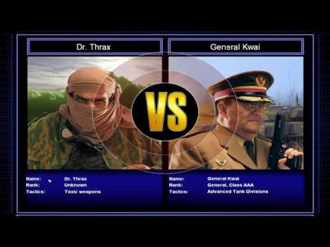 Command and Conquer Generals Zero Hour Toxin Challenge part 1