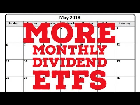 MORE Monthly Dividend ETFs to Buy NOW: Passive monthly income with exchange traded funds