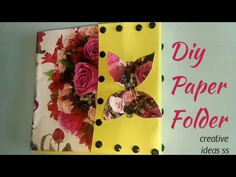 DIY // PAPER // FOLDER