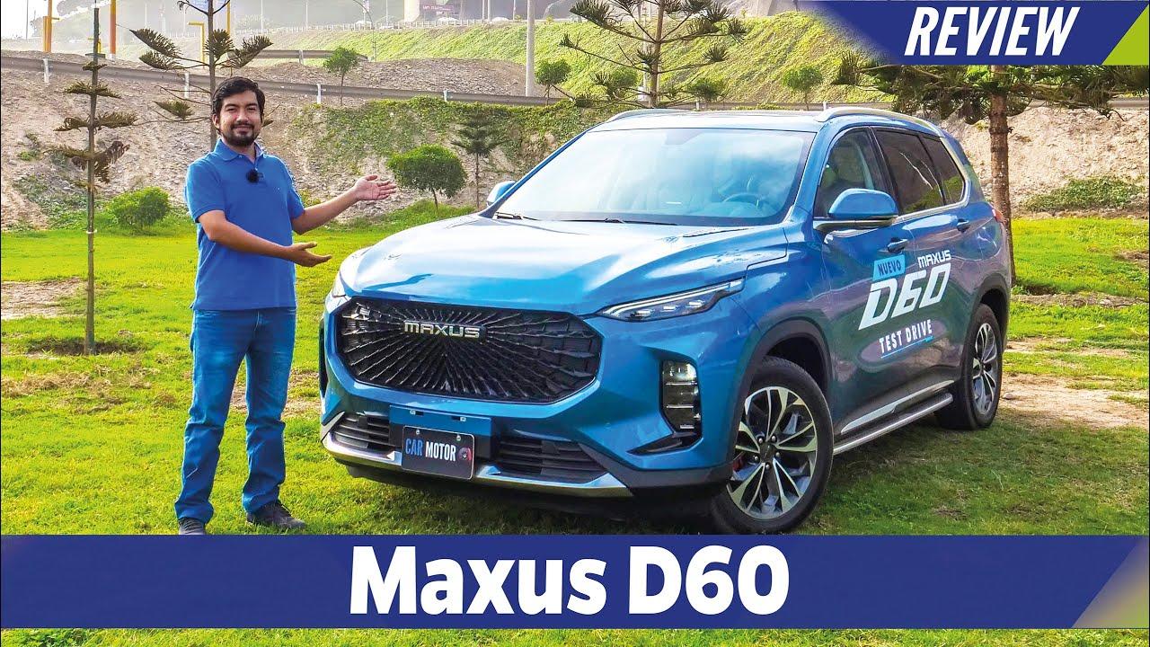 Maxus D60 2021🚙- Prueba completa / Test / Review en Español 😎| Car Motor