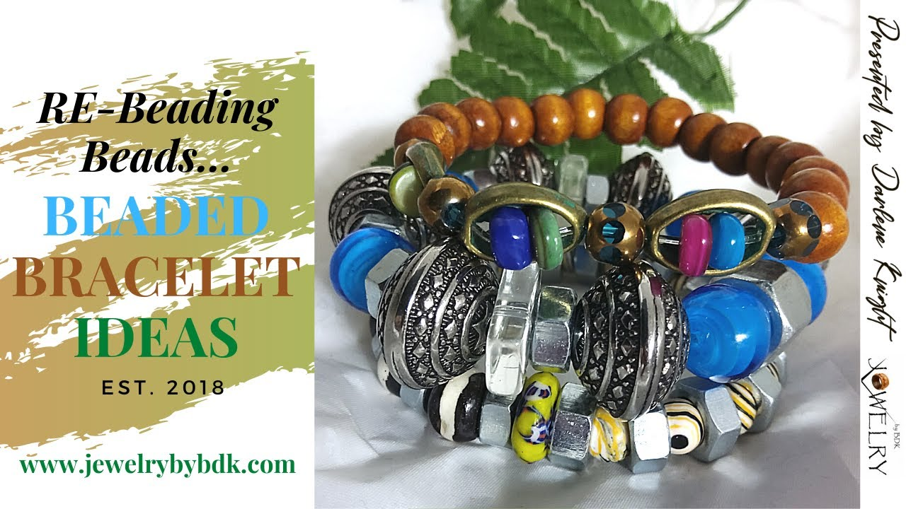 Watch Me Recycle These Beads to Create a Master-Piece