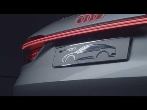 Audi E-Tron Sportback concept video debut