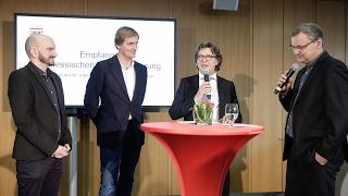 Hessen-Empfang auf der Berlinale 2017 | Lars Kraume, Hans Joachim Mendig, Philipp Aubel Video