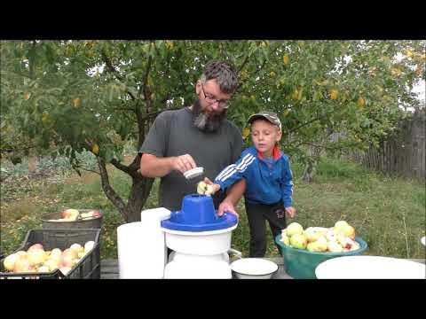 Яблочный сок на зиму. 60 литров за 2 часа